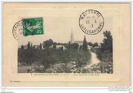 Cpa..47..LEVIGNAC DE SEYCHES..VUE GENERALE ( COTE SUD )...A VOIR - Frankrijk