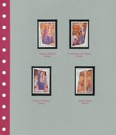 Fra Angelico 4 Timbres Ghana - Timbres
