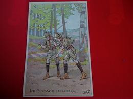SCOUTISME LE PISTAGE ILLUSTRATEUR JOB PUB BELLE JARDINIERE - Scouting