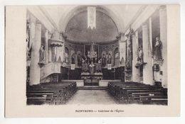 39  MONTROND   Intérieur De L'église - Autres Communes