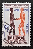 JEUX SPORTIFS DE LA COMMUNAUTE 1960 - OBLITERE - YT 354 - MI 463 - Madagascar (1960-...)