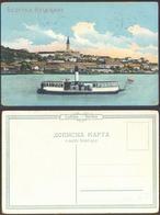 SERBIA  - BELGRAD - DANUBE - SHIP  - No Travel - Histoire