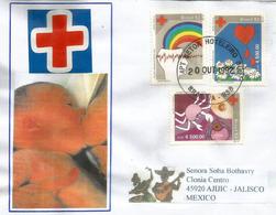 BRESIL. Santé Et Préservation De La Vie, Croix-Rouge, Lettre De Brasilia Adressée Au Mexique - Croix-Rouge