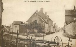 CP IVRY-LE-TEMPLE ENTREE DU PAYS - Autres Communes