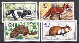 Allemagne DDR 1970  Mi.nr.:1541-1544 Tiere  Neuf Sans Charniere /MNH / Postfris - [6] République Démocratique