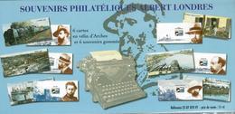Souvenir Philatélique Albert Londres Sous Blister - Unclassified