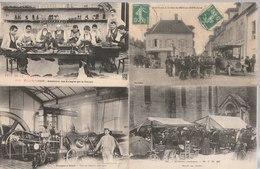 Lot De 100 Cartes Postales Anciennes Diverses Variées Dont 4 Photos, Très Bien Pour Un Revendeur Réf, 327 - Cartes Postales