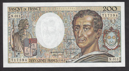 200 Francs Montesquieu De 1982 - Fay 70/2 En Neuf - 1962-1997 ''Francs''