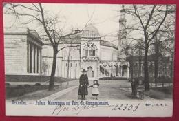 Cpa Belgique - Bruxelles 1900 - Palais Mauresque Au Parc Du Cinquantenaire - Forêts, Parcs, Jardins
