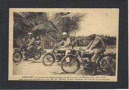 CPA Moto Motor écrite Dahomey - Motos