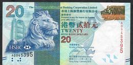 HONG-KONG  P212a 20 DOLLARS 2010   # AQ      VF - Hong Kong