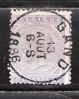 41  Emission De 1883 - Bonne Valeur - Oblit. Centrale GAND - LOOK!!!! - 1883 Léopold II
