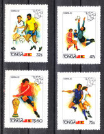 Tonga - 1982. Calciatori In Azione. Soccer Players In Action. Complete MNH Series - 1982 – Espagne