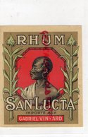 ETIQUETTE RHUM SAN LUCTA - GABRIEL VINYARD - Rhum