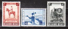938/40*  Monument Albert Ier - Série Complète - MH* - Deuxième Choix - LOOK!!!! - Belgique