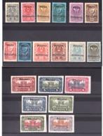 Carinthie  - 1920 - N° 1 à 19 - Neufs * - Séries D'Autriche Surchargés - Dentelés Et Non Dentelés - Plébiscite - Timbres