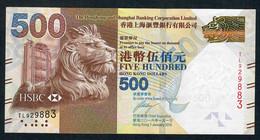 HONG-KONG  P215c 500 DOLLARS 2016   # TL      VF - Hong Kong