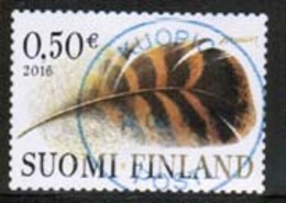 2016 Finland Feather Fine Used. - Finlande