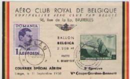 3° EPREUVE  V° COUPE  GORDON-BENNETT  1938 - Belgique