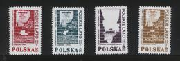 POLAND SOLIDARITY POCZTA SOLIDARNOSC REGION SRODK-WSCH POLISH SUMMER 1980-1985 COMMEMORATION OF STRIKES SET OF 4 - Vignette Solidarnosc