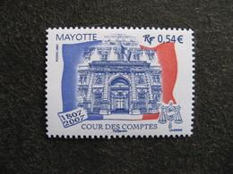 Mayotte: TB N° 196, Neuf XX . - Mayotte (1892-2011)