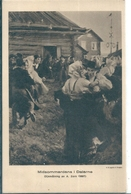 Superbe Cpa Retraçant Ce  Tableau SUEDOIS  -  Midsommardans I  Dalarne -   Oljemaining Av  A. Zorn ( 1897 ) - Suède