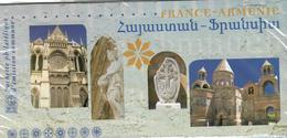 Souvenir Philatélique France Arménie Sous Blister - Timbres