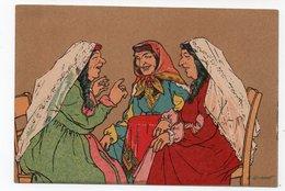 Caucasian Types. Old Tiflis. Women. - Géorgie