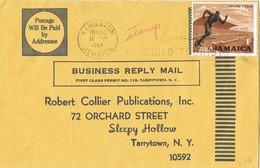 30796. Carta Reply Mail ST. MARY (Jamaica) 1964. Fechador KINGSTON - Jamaica (1962-...)