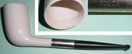 Rare NEUF Pipe Ancienne En Céramique émaillée. Goede WAAGEN Holland, Goedewaagen - Pipes En Terre Et Porcelaine
