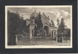 CPA Synagogue Judaïsme Jewish Juif Judaïca Circulé Goppingen Allemagne Germany - Judaisme