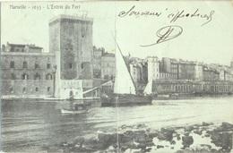 MARSEILLE - L'Entrée Du Port (voilier) - Old Port, Saint Victor, Le Panier