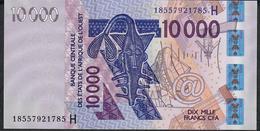 W.A.S. NIGER P618Hr 10.000 FRANCS 2018  UNC. - Niger