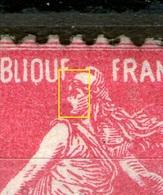 N° 196*_Oeil Ouvert_cote 21.00_petit Pelurage Verso - 1906-38 Semeuse Camée