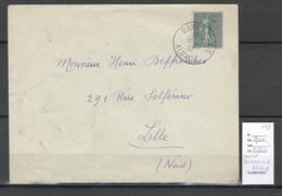 France  Lettre - Cachet DANNEMARIE  - Alsace - 1919 - Marcophilie (Lettres)
