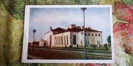 Postcard Novgorod   RAILWAY STATION - LA GARE - BAHNHOF 1958 - - Gares - Sans Trains