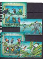 Palau 2001 Birds Fauna 2klb+2s/s MNH - Vögel