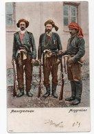 Caucasian Types. Mingrelian Soldiers. - Géorgie