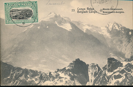 BELGIAN CONGO PPS 1912 ISSUE STIBBE 43 VIEW 23 CTO - Entiers Postaux