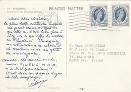 """CP De Rhodésie/ NYASSALAND - Pub. Papier """"FIDELIS M.B.M."""" - T. à D. De Salisbury. - Autres - Afrique"""