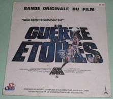 Rare Disque Vinyle 45T 45 Tours Star Wars La Guerre Des Etoiles BO - Musique De Films