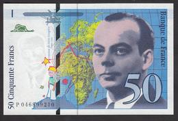 50 Francs Saint Exupéry De 1996 - Fay 73/3 En Neuf - 1992-2000 Last Series