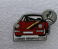 Pin's Porsche . Cobras Organisation . Egf . émail Grand Feu - Porsche