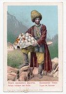 Caucasian Types. Persian, The Fruit Seller. - Géorgie