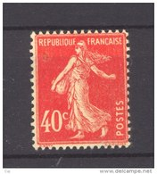 France  :  Yv   194  ** - 1906-38 Sower - Cameo