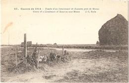 Dépt 77 - GUERRE DE 1914 - Tombe D'un Lieutenant De Zouaves Près De MEAUX - J.C. N° 27 - (meule De Foin) - France