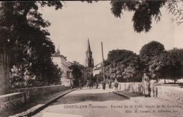 5560A  CONFOLENS 1930 ECRITE - Confolens