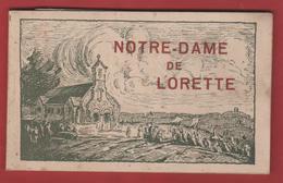 Carnet De 9 Vues De NOTRE DAME DE LORETTE 62 - 1914-18