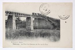 Dahomey. Le Pont Du Chemin De Fer Sur Le Zou. - Dahomey