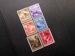 D.R.Mi 806-809 - Satz*MLH / 701(*)UNG / 813x*MLH - 1939-1942 - Mi 10,00 € - Germany